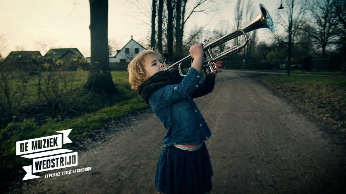 De muziekwedstrijd trompet