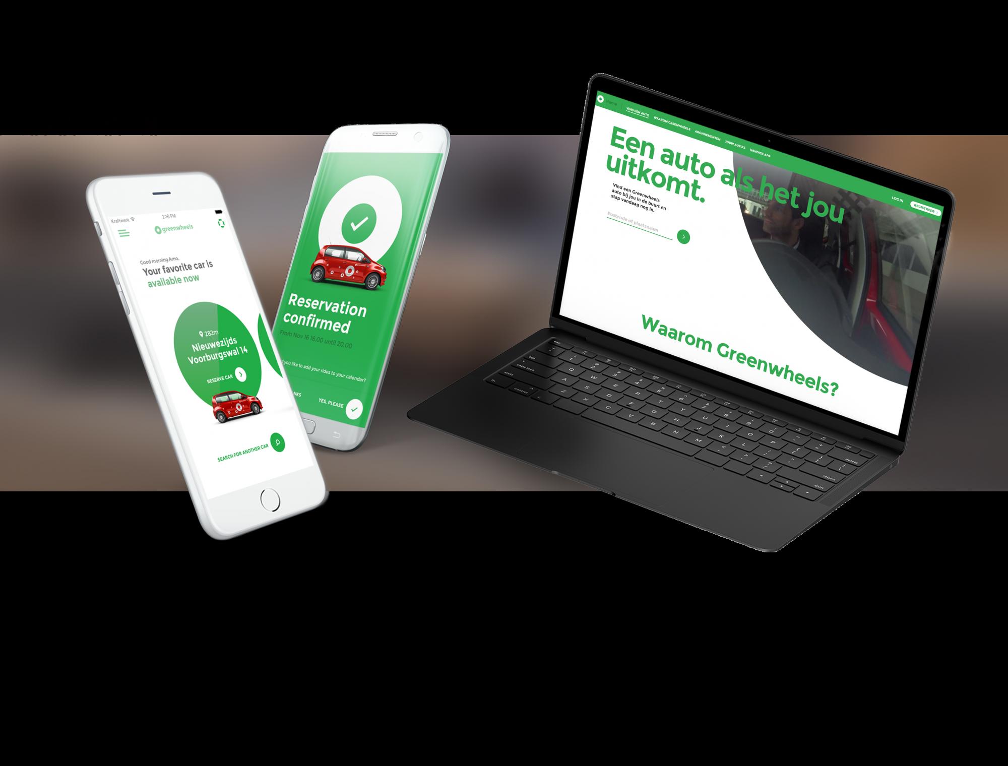 INFO case: Greenwheels digitaal platform